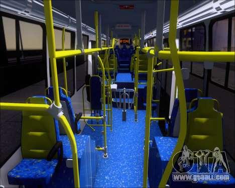 Caio Millennium II Volksbus 17-240 for GTA San Andreas inner view