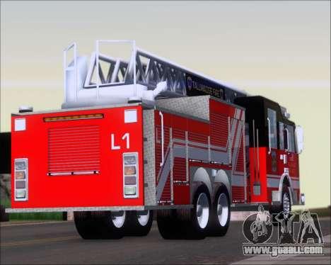 Pierce Arrow XT TFD Ladder 1 for GTA San Andreas right view