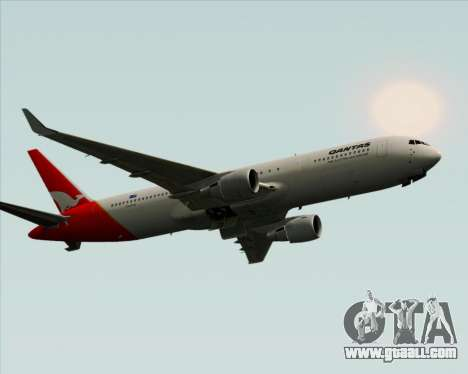 Boeing 767-300ER Qantas for GTA San Andreas right view