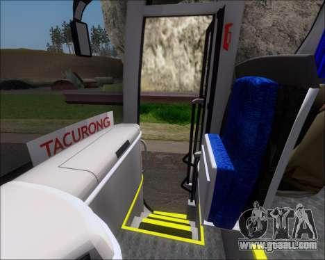 MAN Lion Coach Rural Tours 2790 for GTA San Andreas wheels