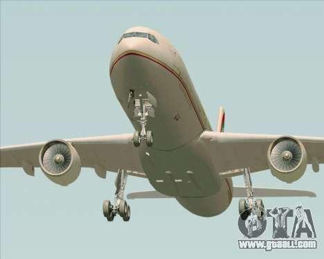 Airbus A330-300 Etihad Airways for GTA San Andreas engine
