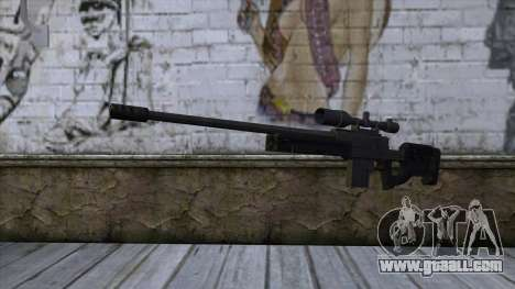 GTA 5 Sniper Rifle for GTA San Andreas