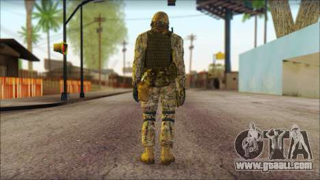 USA Soldier v1 for GTA San Andreas second screenshot