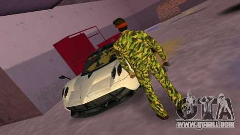 Camo Skin 07 for GTA Vice City third screenshot