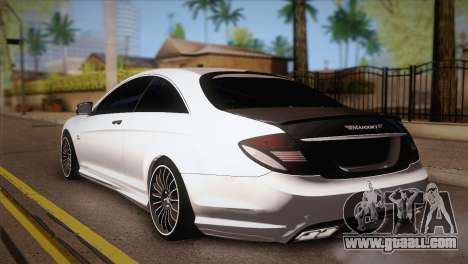 Mercedes-Benz CL63 AMG for GTA San Andreas left view