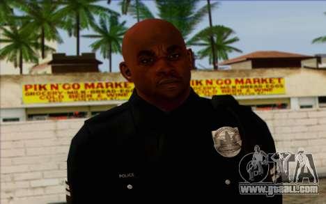 Police (GTA 5) Skin 3 for GTA San Andreas third screenshot