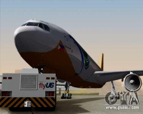Airbus A330-300 Cebu Pacific Air for GTA San Andreas upper view