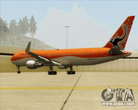 Boeing 767-300ER Australian Airlines for GTA San Andreas inner view