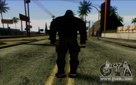 Bane from Batman: Arkham Origins for GTA San Andreas second screenshot