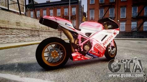 Ducati 1198 R for GTA 4 left view