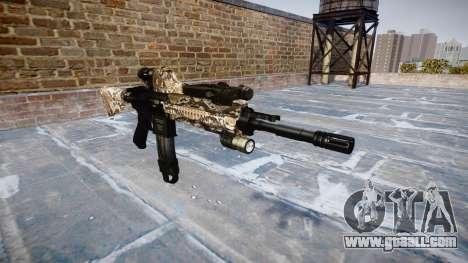 Automatic rifle Colt M4A1 viper for GTA 4