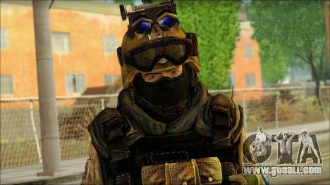 Mercenary (SC: Blacklist) v3 for GTA San Andreas third screenshot