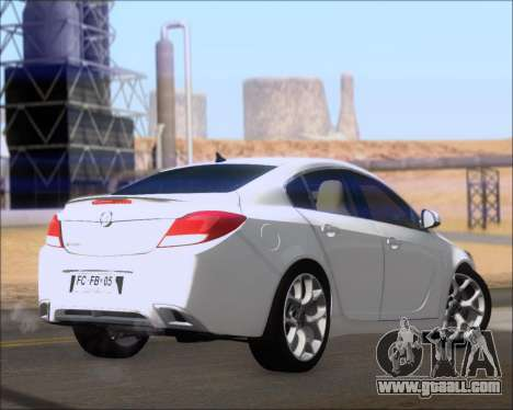 Opel Insignia OPC for GTA San Andreas right view