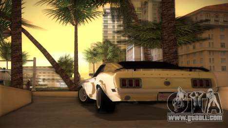 Ford Mustang 492 for GTA Vice City left view