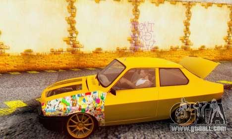 Dacia 1310 Sport Tuning v2 for GTA San Andreas back left view
