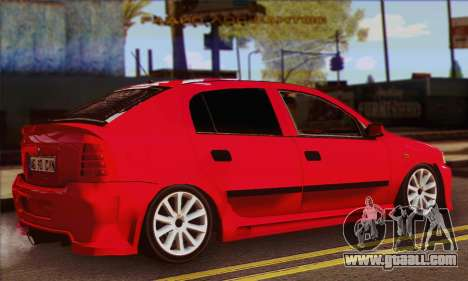 Opel Astra for GTA San Andreas left view