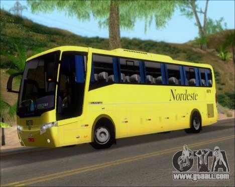 Busscar Elegance 360 Viacao Nordeste 8070 for GTA San Andreas interior
