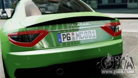 Maserati Gran Turismo MC Stradale 2014 for GTA 4 side view