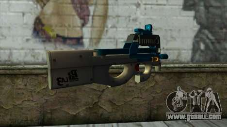 P90 from PointBlank v5 for GTA San Andreas second screenshot