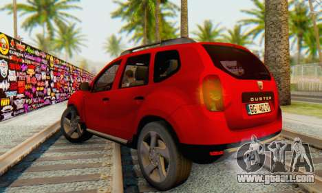 Dacia Duster for GTA San Andreas back left view