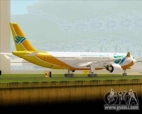 Airbus A330-300 Cebu Pacific Air for GTA San Andreas right view