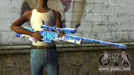 Graffiti Sniper Rifle v2 for GTA San Andreas third screenshot