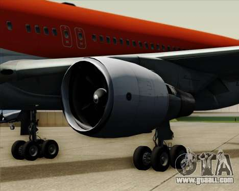 Boeing 767-300ER Australian Airlines for GTA San Andreas