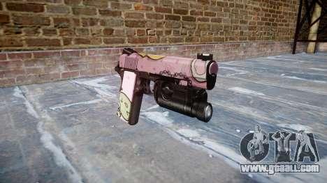 Gun Kimber 1911 Kawaii for GTA 4