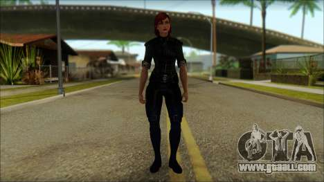 Mass Effect Anna Skin v8 for GTA San Andreas