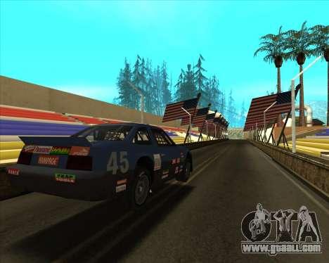 Sky Road Merdeka for GTA San Andreas third screenshot