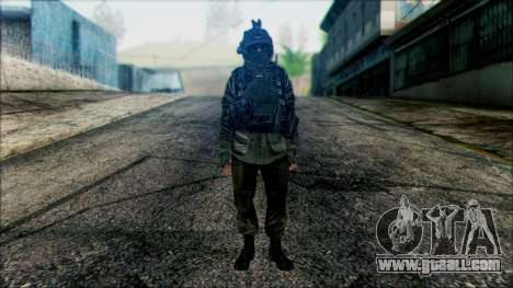 Soldiers airborne (CoD: MW2) v1 for GTA San Andreas