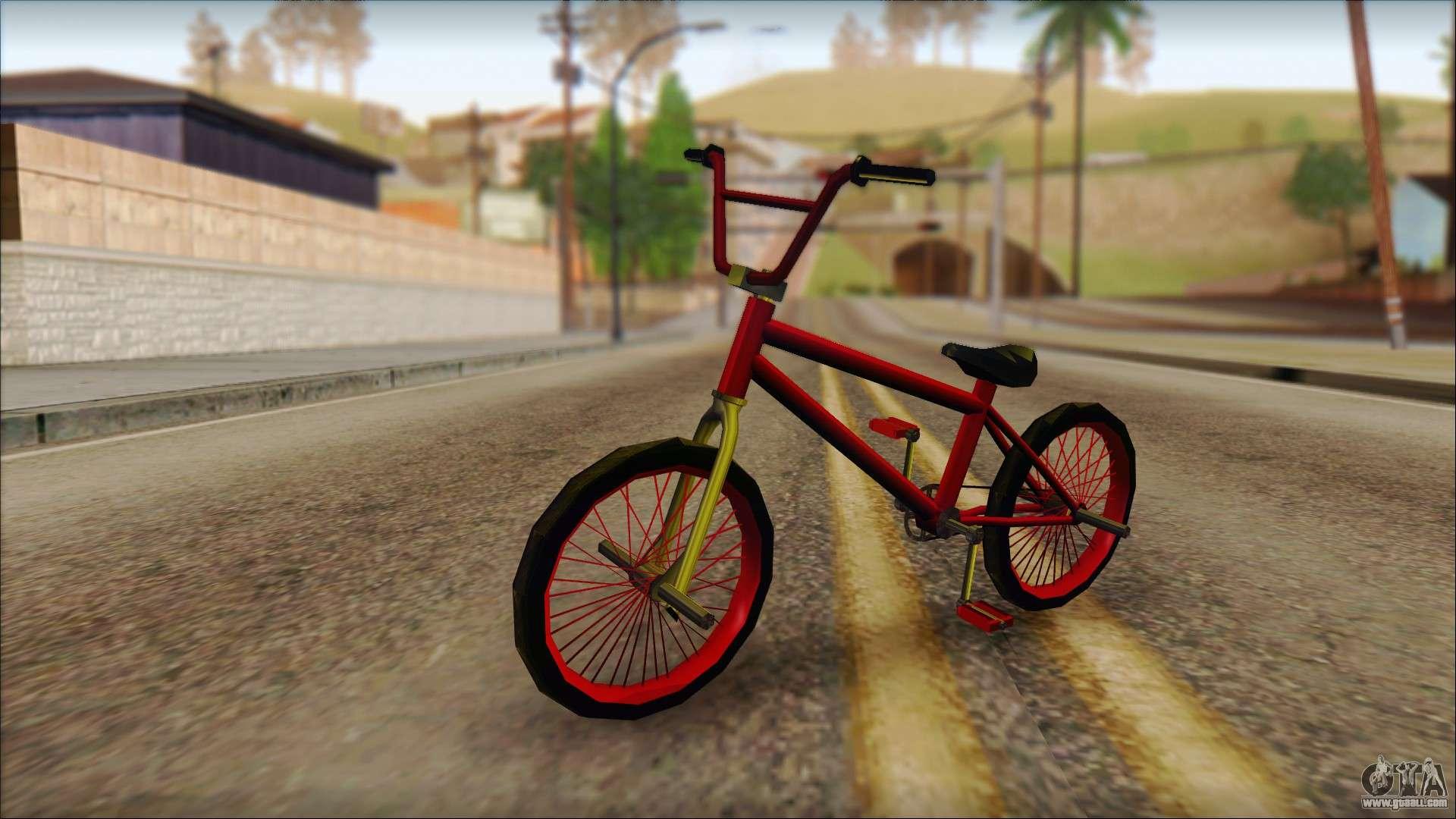 Bmx For Gta San Andreas