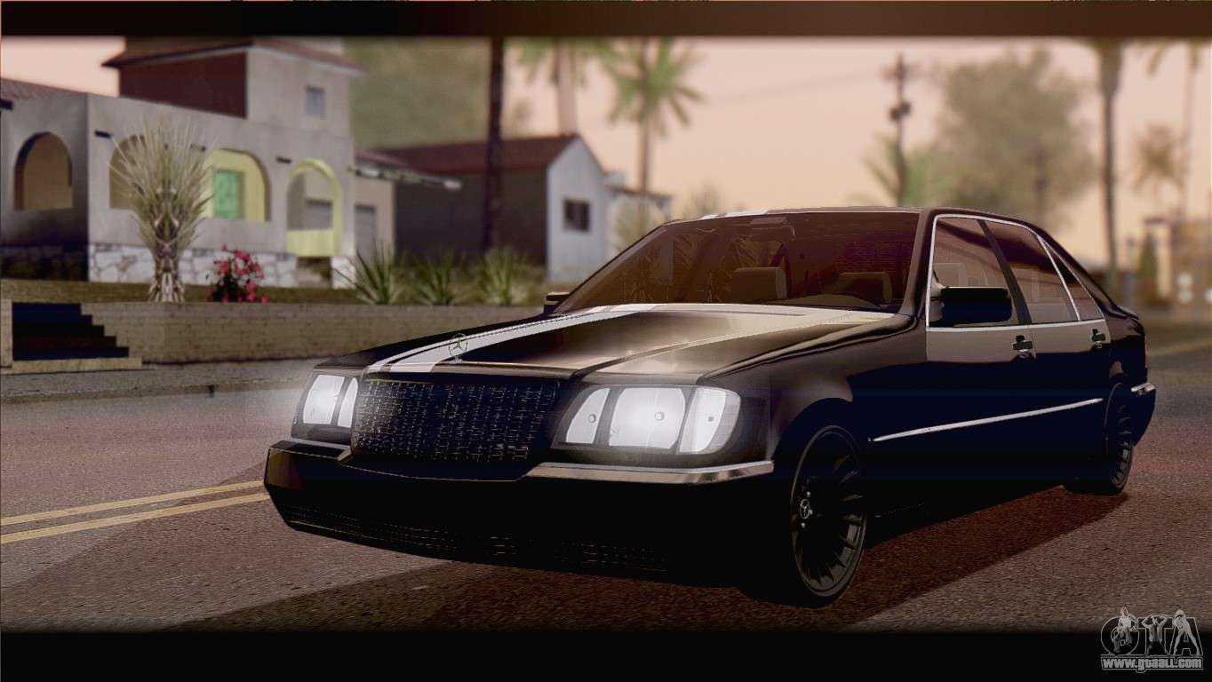 Mercedes benz s600 for gta san andreas for Mercedes benz gta