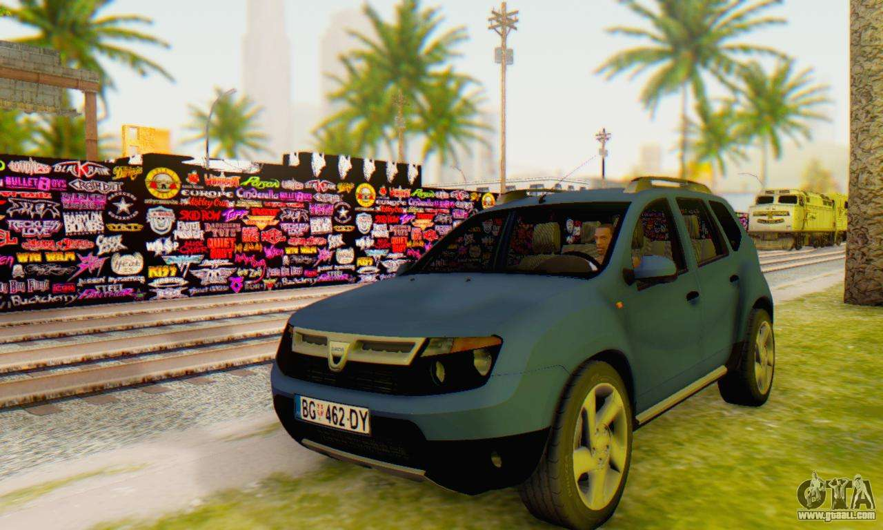 dacia duster for gta san andreas. Black Bedroom Furniture Sets. Home Design Ideas