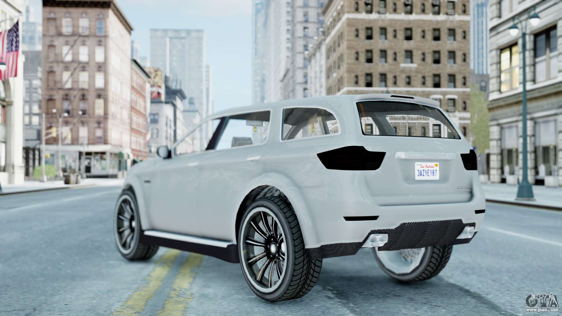 GTA 5 Bravado Gresley for GTA 4