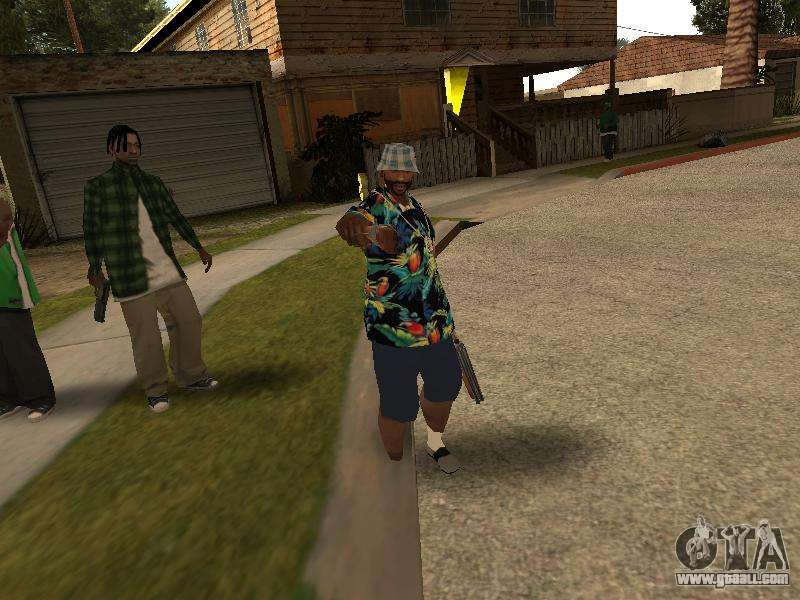 Pose Gangster For Gta San Andreas