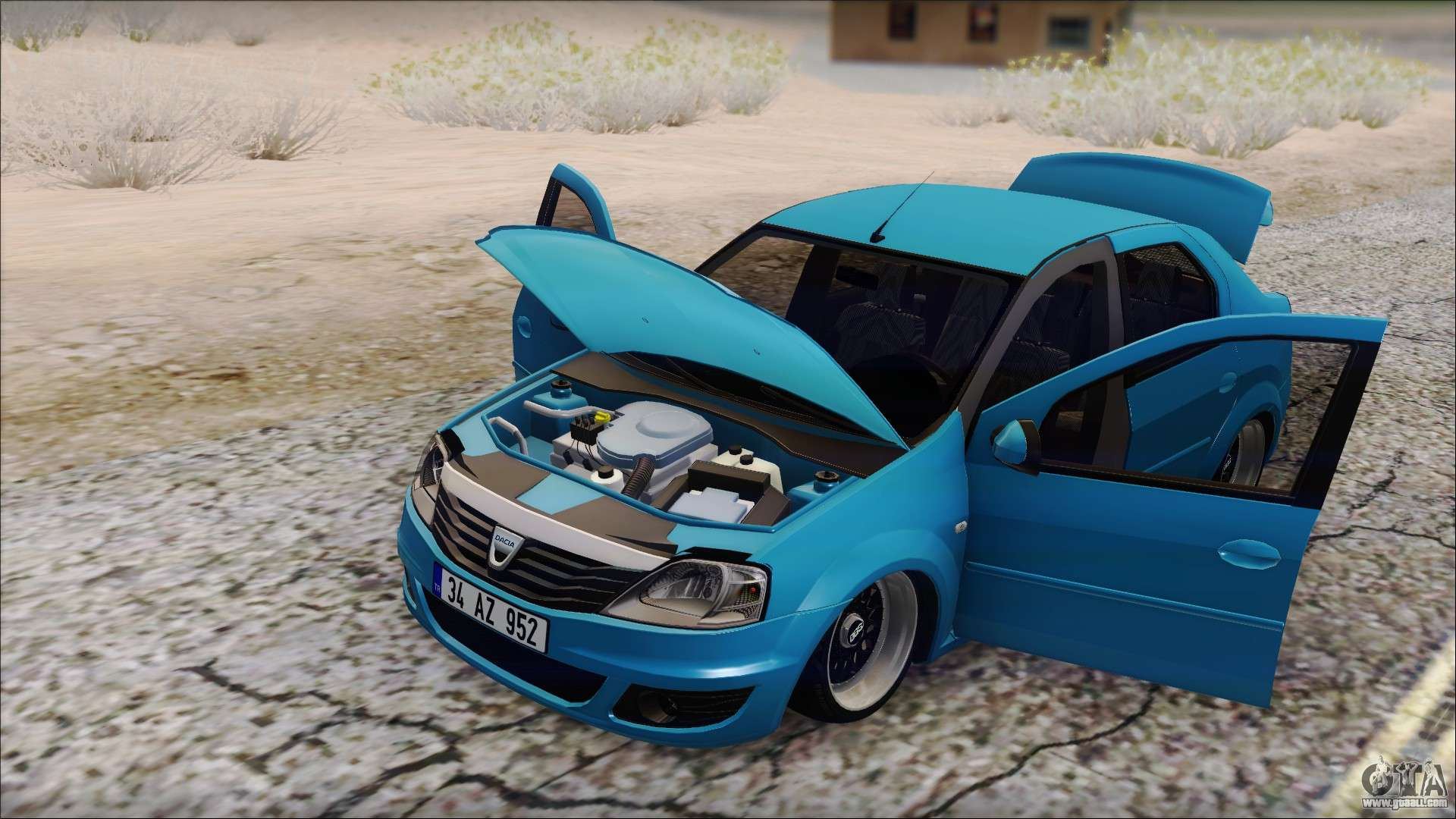 Dacia logan bs garage for gta san andreas for Garage dacia rouen