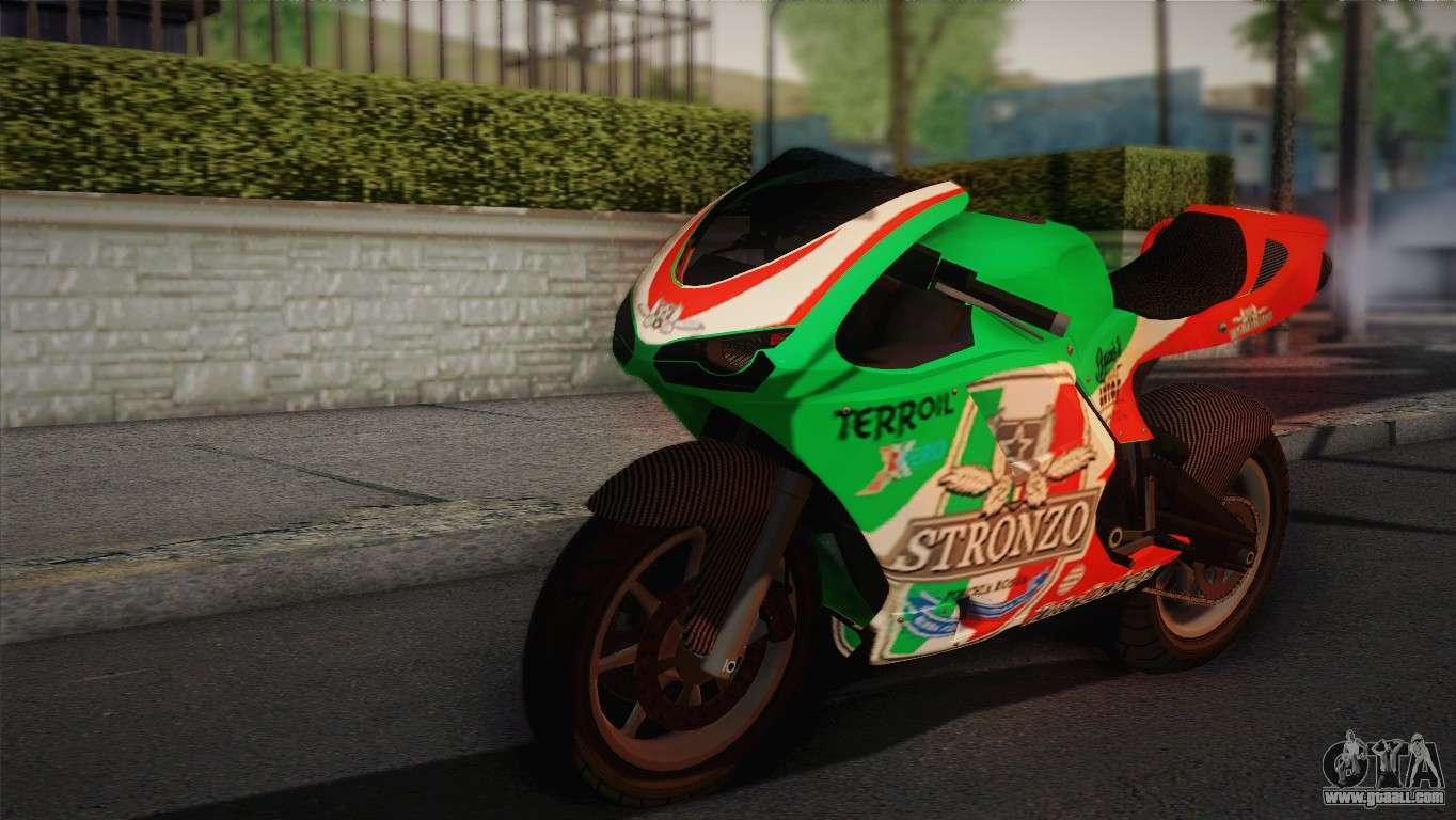 Bati RR 801 Stronzo for GTA San Andreas