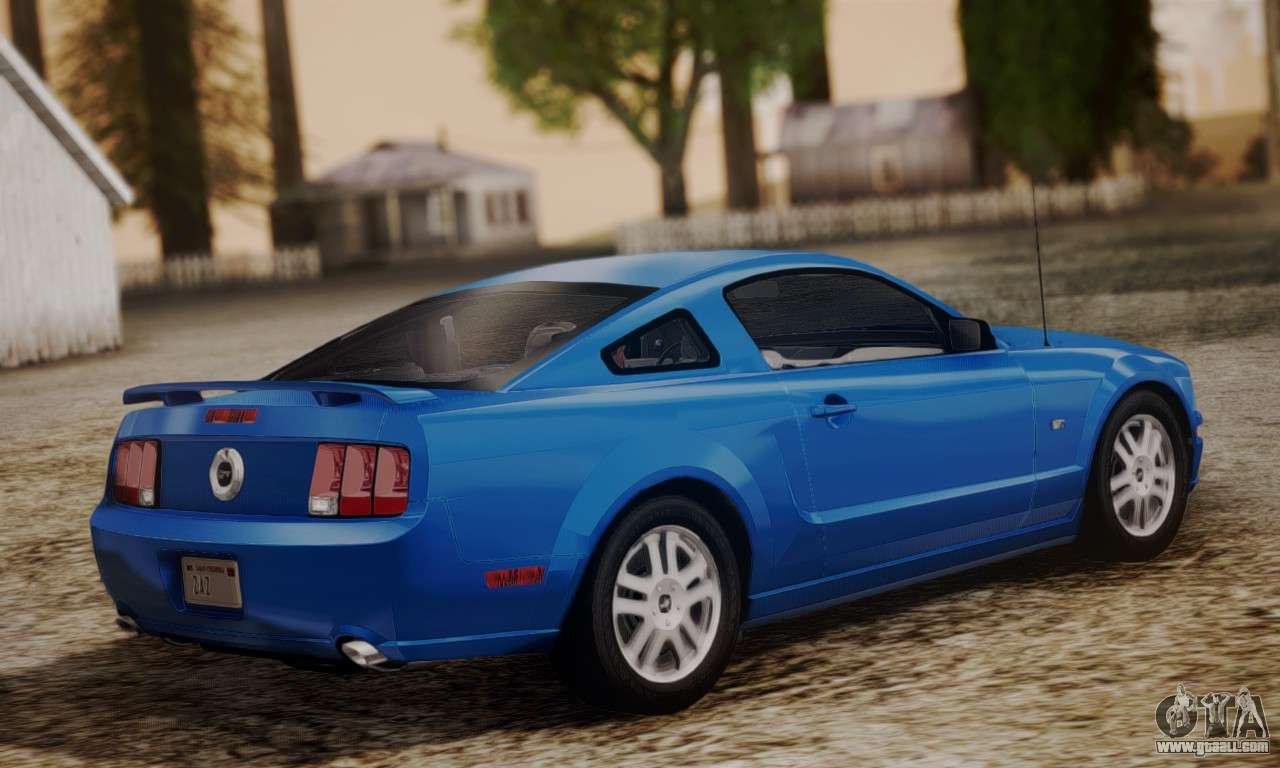 Ford Mustang Gt 2005 V2 0 For Gta San Andreas