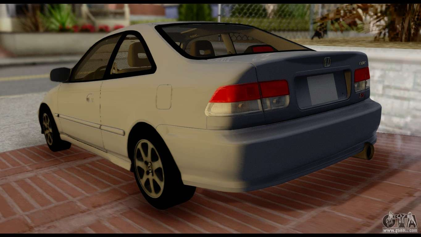 honda civic si 1999 for gta san andreas. Black Bedroom Furniture Sets. Home Design Ideas