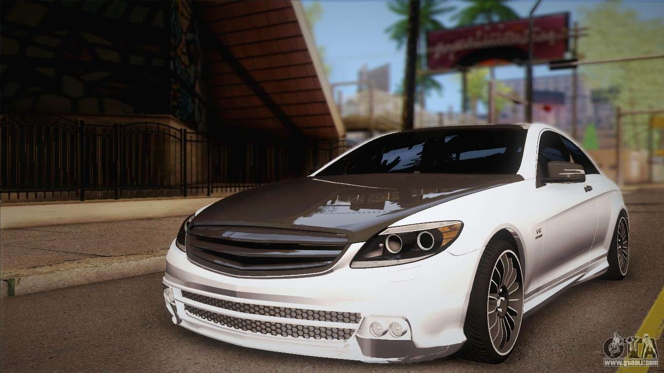 mercedes benz cl63 amg for gta san andreas. Black Bedroom Furniture Sets. Home Design Ideas