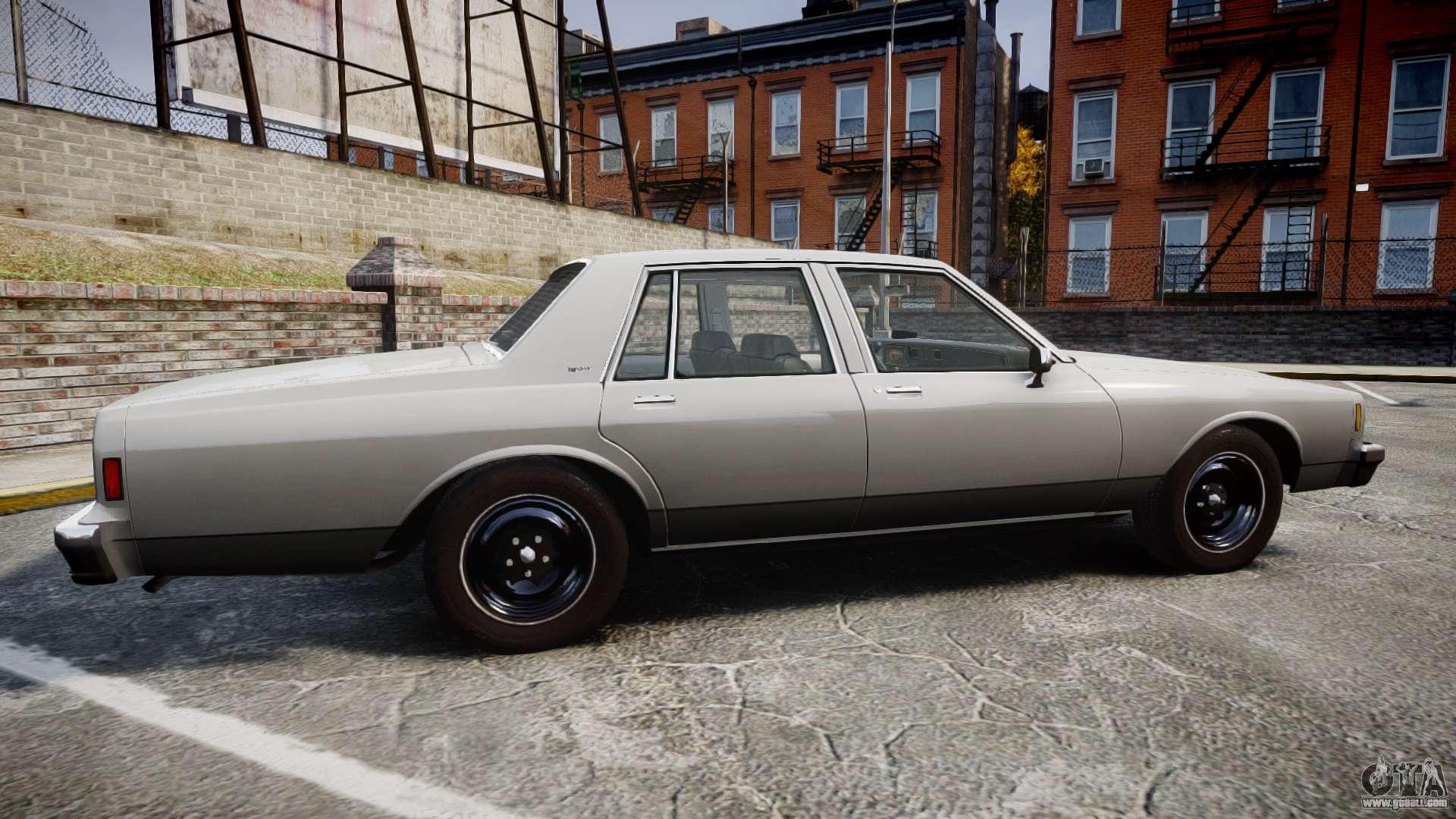 chevrolet impala 1985 for gta 4. Black Bedroom Furniture Sets. Home Design Ideas
