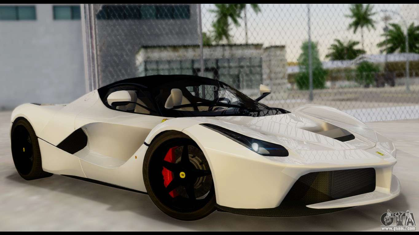 Ferrari laferrari f70 2014 for gta san andreas ferrari laferrari 2014 hqlm vanachro Image collections
