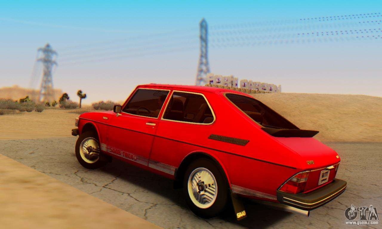 saab 99 turbo 1978 for gta san andreas. Black Bedroom Furniture Sets. Home Design Ideas