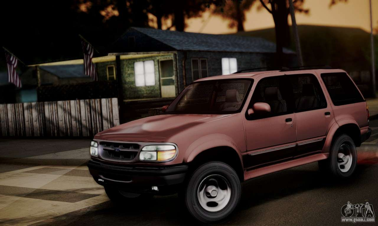 Ford Explorer Parts >> Ford Explorer 1996 for GTA San Andreas