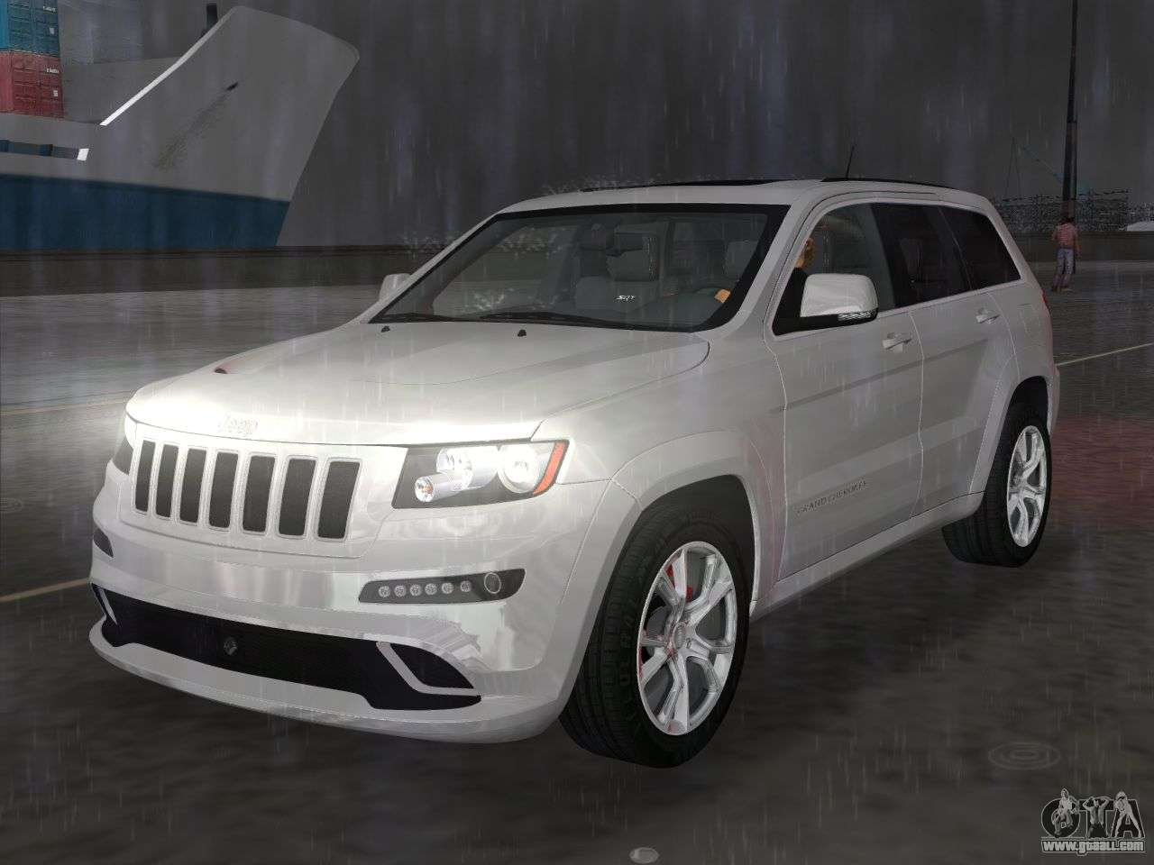 jeep grand cherokee srt 8 wk2 2012 for gta vice city. Black Bedroom Furniture Sets. Home Design Ideas