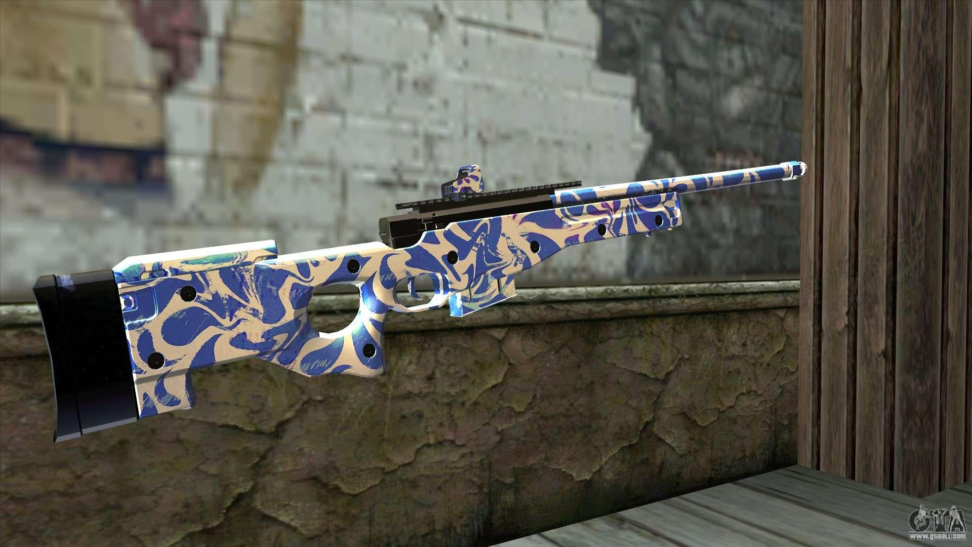 Graffiti Rifle For Gta San Andreas