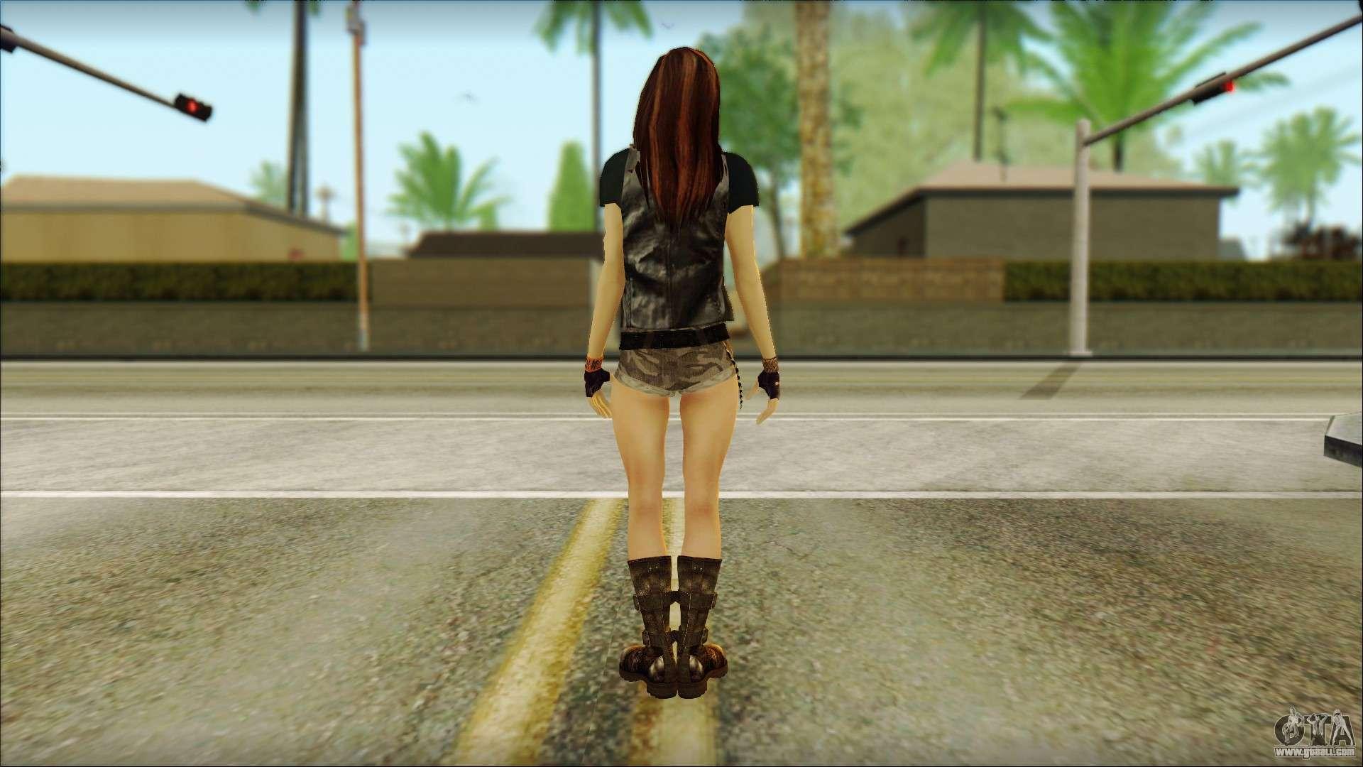 Bike Girl For Gta San Andreas-1307