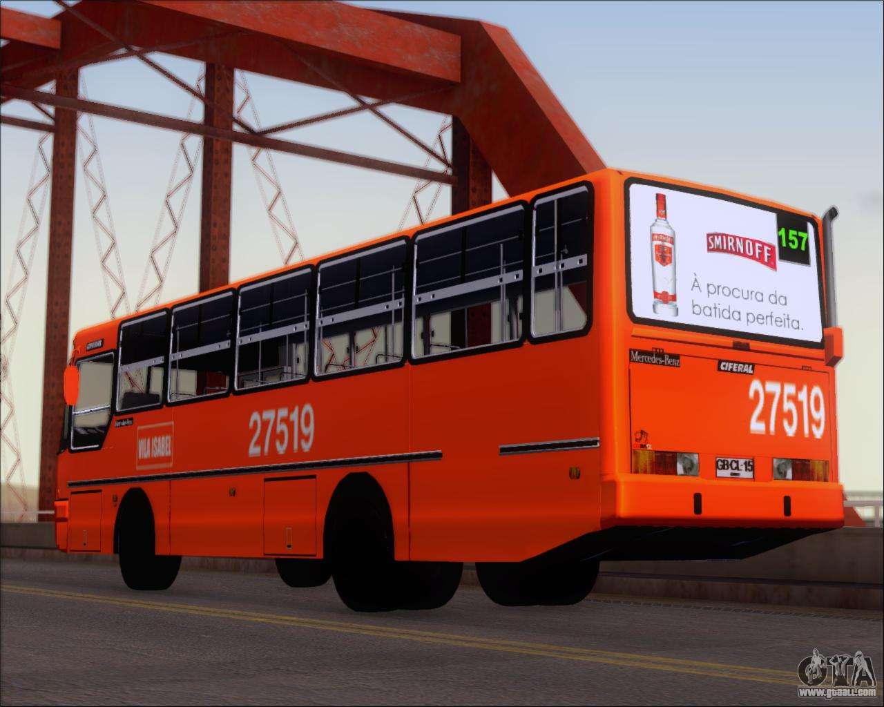 Ciferal gls bus mercedes benz oh1420 for gta san andreas for Mercedes benz transit
