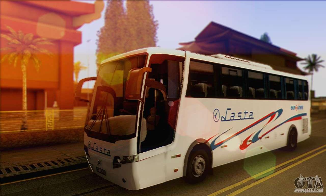 Volvo Lasta Bus for GTA San Andreas